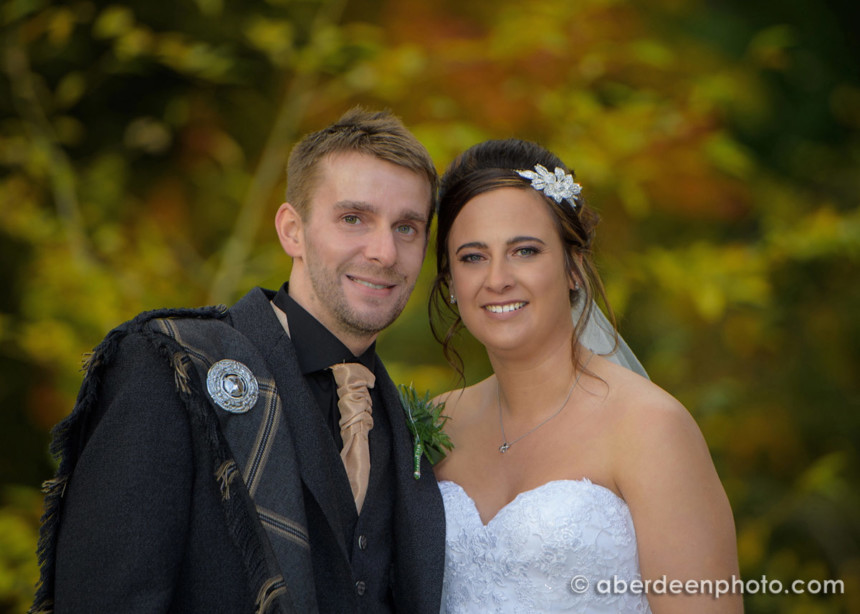 October 28th – Joanne and Craig at Norwood Hall