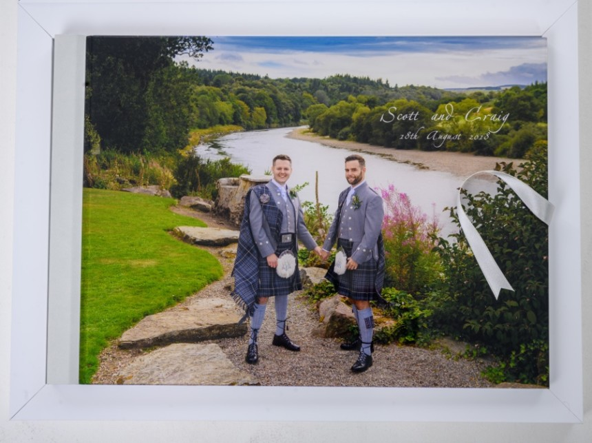 Scott and Craig's Wedding album