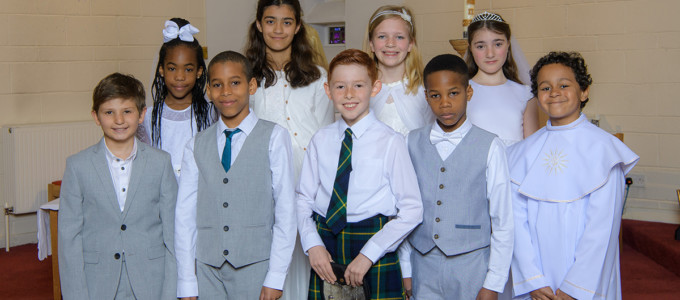 2019, May 11th – St Frances First Communion