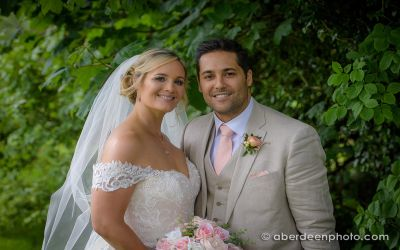 June 1st – Jenny and Mike at Ardoe House Hotel