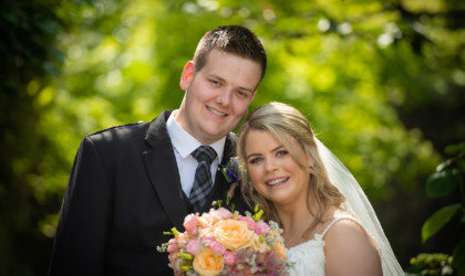 July 26th – Laura and Matthew at Norwood Hall