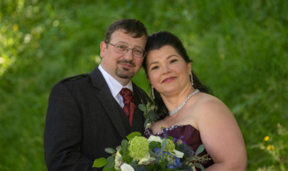 July 27th – Andra and Steve at Caledonian Hotel