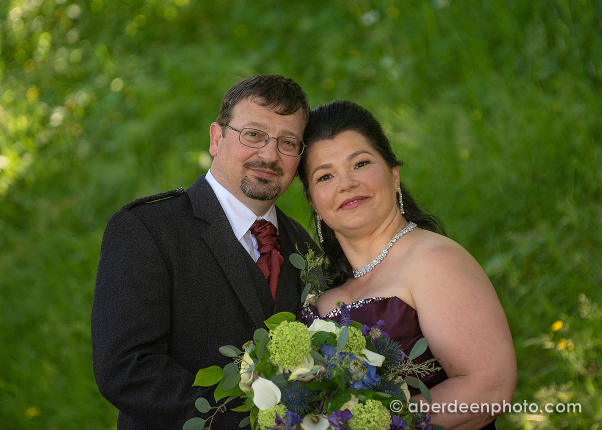 July 27th – Andra and Steve at Caledonian Hotel