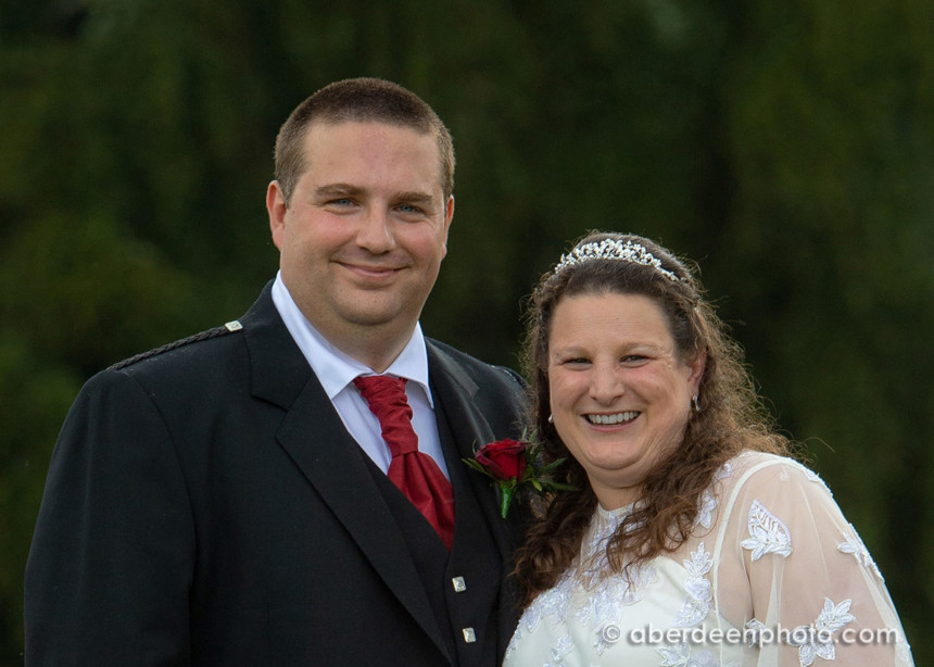August 10th – Helen and Simon at Ballogie House
