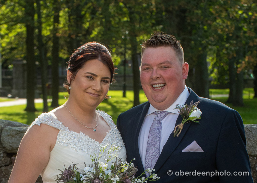 August 17th – Zoe and Alistair at Clan Sensory Garden