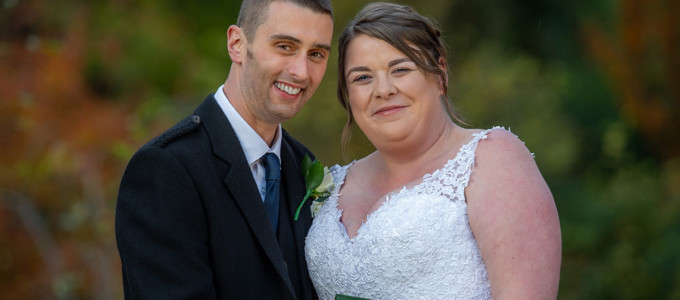 November 8th – Melanie and Russell at Norwood Hall Hotel
