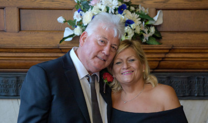 March 8th – Sandra and Joseph at Marischal College