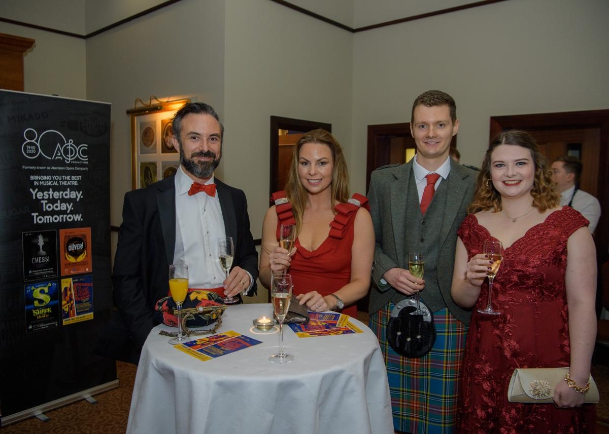 2020, February 7th – Aberdeen Opera Company 80th Year Celebration