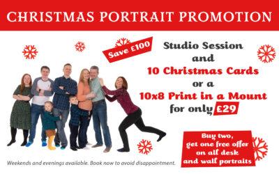 Christmas Portrait Offers