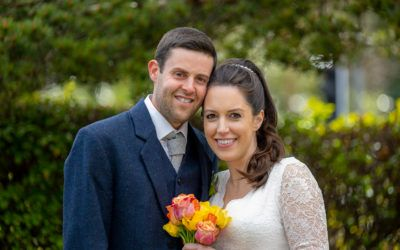 May 1st – Joanne and Chris at Rubislaw Church