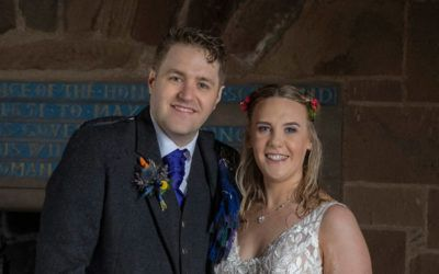 May 8th – Christine and David at Dunnottar Castle and Tor-Na-Coille Hotel