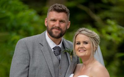 2021, June 13th – Vicky and Lee at Norwood Hall